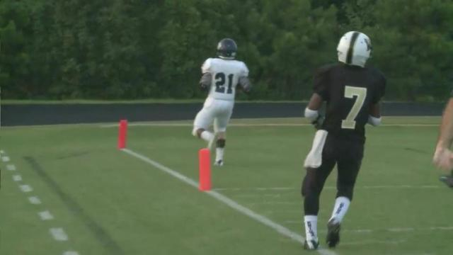Highlights: Millbrook vs. Knightdale (Aug. 29, 2014)