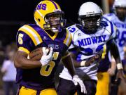 Football: Rosewood vs Midway (Sept. 5, 2014)