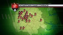 Hometown Coverage map Oct. 24