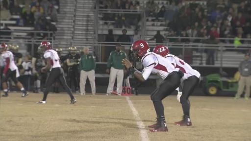 Highlights: Hoke County vs. Pinecrest (Nov. 7, 2014)