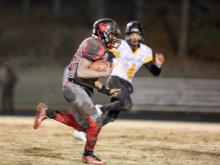 Southern Durham's Jordon Brown is capable of playing multiple positions on the football field, including running back and wide receiver.