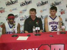 Press conference: Sanderson (Dec. 26, 2013)