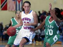 West Craven used a strong second and fourth quarter to down Cary 555-49 Thursday in the opening round of the 2013 HighSchoolOT.com Holiday Invitational.