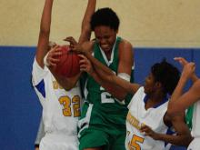 Thanks in part to a record-setting afternoon by senior center Azura Stevens, the Cary Imps downed Greensboro Dudley 42-35 Saturday afternoon to secure fifth place in the Mix 101.5 Girls Bracket in the 2013 HighSchoolOT.com Holiday Invitational.