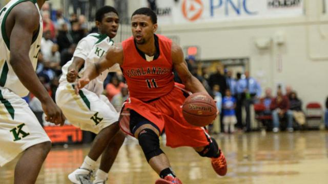 Joel Berry (11).  High School OT Holiday Invitational Shavlik Randolph Bracket matched up Kinston High School from Kinston, North Carolina and Lake Highland Preparatory School in Orlando, Florida.  Kinston was beat by Lake Highland by a score of 74 to 54.  (Photo by: Suzie Wolf/WRAL contributor)