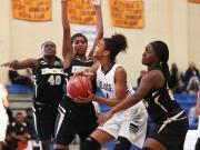 Girls Basketball: Hillside vs Knightdale (Dec. 26, 2014)