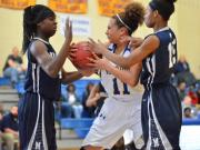 Girls Basketball: Millbrook vs East Wake (Dec. 26, 2014)