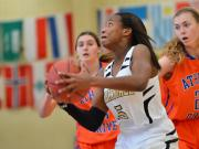 Girls Basketball: Knightdale vs Athens Drive (Dec. 27, 2014)