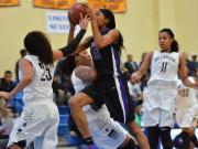 Girls Basketball: Durham Riverside vs Millbrook (Dec. 27, 2014)