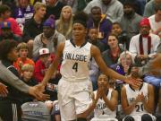 Girls Basketball: Durham Riverside vs Hillside (Dec. 30. 2014)