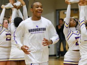 Boys Basketball: Sanderson vs. Broughton (Jan. 23, 2013)
