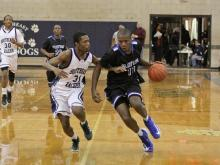 Clayton's boys basketball team defeated Southeast Raleigh to stay in the mix for the Greater Neuse title.