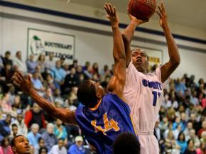 Boys Basketball: Garner vs. Clayton (Feb. 6, 2013)