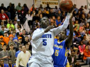 Boys Basketball: Garner vs. Clayton (Feb. 6, 2013)