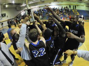 Boys Basketball: Clayton vs. Garner (Feb. 22, 2013)