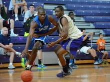 B&G Jamboree: Broughton vs. Clayton (June 14, 2013)  Clayton forward Gary Clark.