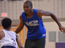Holly Springs hosts basketball scrimmage (June 18, 2013)  Clayton's Gary Clark