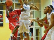 Boys Basketball: Panther Creek 68, Middle Creek 52 (Jan. 4, 2014)