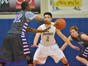 Boys Basketball: Broughton vs. Heritage (Jan. 17, 2014)