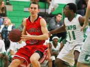 Boys Basketball: Middle Creek vs. Cary (Jan. 17, 2014)