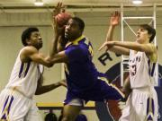 Boys Basketball: East Wake vs. Garner (Jan. 24, 2014)