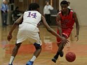 Boys Basketball: Middle Creek 50, Athens Drive 37 (Feb. 7, 2014)
