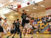 Boys Basketball: Cary vs. Middle Creek (Feb. 18, 2014)