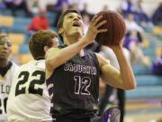 Boys Basketball: Broughton vs. Enloe (Feb. 18, 2014)