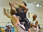 Boys Basketball: Heritage vs. Enloe (Feb. 19, 2014)