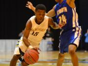 Boys Basketball: Plymouth vs. East Carteret (Mar. 6, 2014)