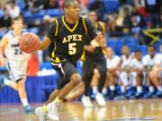 Boys Basketball: Apex vs. Clayton (Mar. 7, 2014)
