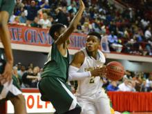 Kinston won its third straight state championship in boys basketball with a win over North Rowan on Saturday.