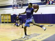 Millbrook's basketball team hosts midnight practice