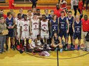 Boys Basketball: Australian Travel Team vs. Middle Creek (Dec. 15, 2014)