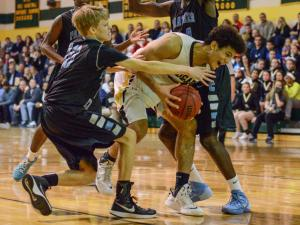 Boys Basketball: Panther Creek vs. Apex (Jan. 9, 2015)