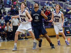 Boys Basketball: Heritage vs. Broughton (Jan. 16, 2015)