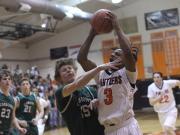 Boys Basketball: Cardinal Gibbons vs. Orange (Jan. 23, 2015)