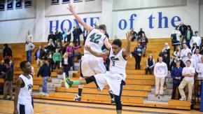 Boys Basketball:  Broughton High School at Leeseville High Schoo