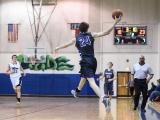 Boys Basketball:  Broughton High School at Leeseville High Schoo
