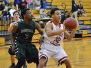 Boys Basketball: Green Hope vs. Middle Creek (Jan. 27, 2015)