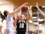 Girls Basketball: Apex vs. Panther Creek (Feb. 6, 2015)