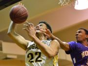 Boys Basketball: Holly Springs vs. Apex (Feb. 13, 2015)