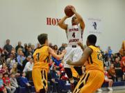 Boys Basketball: Manteo vs. Voyager (Mar. 2, 2015)