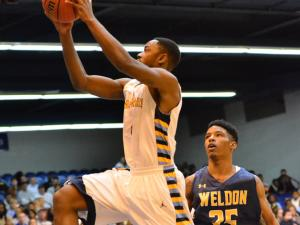 Boys Basketball: Weldon vs East Carteret (March 6, 2015)