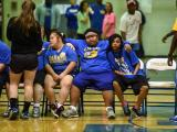 Students with special needs basketball game - Garner High School