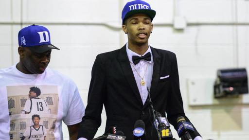 Brandon Ingram commits to Duke (Apr. 27, 2015)