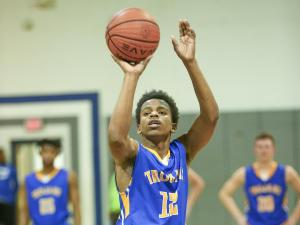 Boys Basketball: Garner vs. Clayton (Dec. 17, 2015)