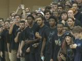 Heritage fans storm court after win over Millbrook