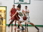 Boys Basketball: Middle Creek vs. Cary (Jan. 26, 2015)
