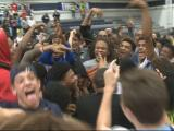 Raw Video: Millbrook celebrates fifth consecutive Cap 8 title
